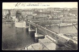 CPA ANCIENNE- FRANCE- PARIS (75)- PONT DE GRENELLE-- LES QUAIS- LES LAVOIRS- ATTELAGES - Brücken