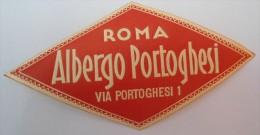 - ROMA  ALBERGO PORTOGHESI - VIA PORTOGHESI 1 -