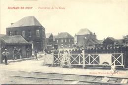 - SIVRY pr�s de Rance et Sautin Carrefour de la Gare du train Passage � Niveau. Edit: W�rion Lev�que.