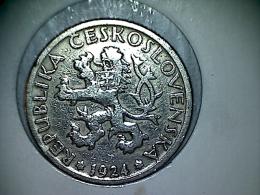 Tchécoslovaquie - 1 Koruna 1924 - Czechoslovakia