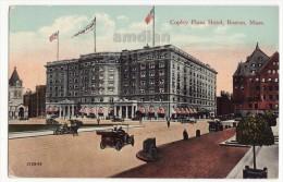 BOSTON MA ~ COPLEY PLAZA HOTEL ~ STREET SCENE ~ Ca 1910s-20s Vintage Massachusetts Postcard [5930] - Boston