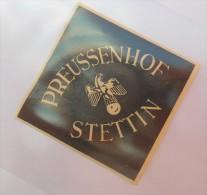 - PREUSSENHOF   STETTIN -