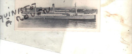 "photo bateau navire identifi� "" PRASIDENT  "" D.A.L DEUTSCHE AFRIKA LINIEN 1900 HAMBOURG NAUTICAL PHOTO"