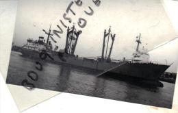 "photo bateau navire identifi� "" OCKENFELS "" HANSA RFA 1956WESER"