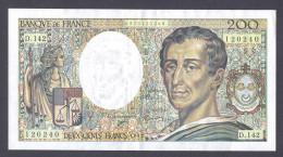 200 FRANCS MONTESQUIEU 1992  D.142 SPL - 200 F 1981-1994 ''Montesquieu''