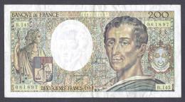 200 FRANCS MONTESQUIEU 1992  B.145 TTB - 200 F 1981-1994 ''Montesquieu''