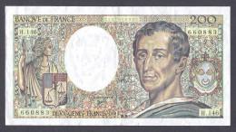200 FRANCS MONTESQUIEU 1992  H.146 TTB+ - 1962-1997 ''Francs''