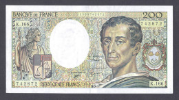 200 FRANCS MONTESQUIEU 1994 K.166 SPL - 200 F 1981-1994 ''Montesquieu''