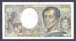200 FRANCS MONTESQUIEU 1994 C.167 SUP - 200 F 1981-1994 ''Montesquieu''