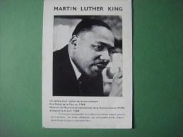 MARTIN LUTHER KING Mouvement International De La Réconciliation -- Rue Du Château D'Eau -- Lessines - Prix Nobel