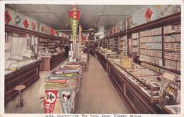 TIJUANA, Mexico, 1900-1910's; Interior View, The Big Curio Store