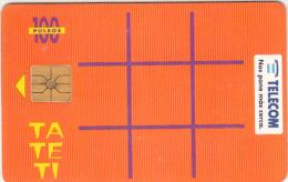 ARGENTINA - TaTeTi, Telecom Argentina Telecard, Chip GEM1, 01/96, Used - Argentinien