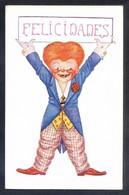 Ilustrador *Hertogs* Ed. Coll Y Salieti Nº 1046. Nueva. - Felicitaciones (Fiestas)