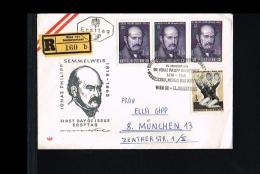 Health & Medicine - Medical Science - Ignaz Philipp Semmelweis - FDC Austria 1965 [FB086] - Medicina