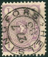 Finland 1878-84 1mk Wapentype M/75 GB-USED - Gebraucht