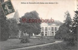 28 -  AUNAY  SOUS AUNEAU - Château  Du Chenevelle - 2  Scans - France