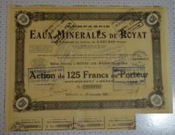 Eaux Minerales De Royat Les Bains - Eau