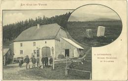Theme Douane CPA  68 Col Des Vosges Ferme Du Louchpach Douaniers Bornes Frontiere - Douane