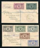 NEW HEBRIDES REGISTERED WEAPONS AND IDOLS 1927 - Nouvelles-Hébrides