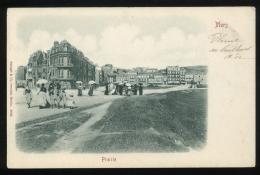 Somme 80 Mers Les Bains Prairie Stengel & Co Animée 1902 Cachet Le Tréport à Dieppe Pionnière - Mers Les Bains