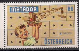 2015  Austria Mi. 3214 **MNH .    Europa: Historisches Spielzeug - 1945-.... 2ème République