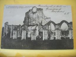 08 92 CPA - BONNEFONTAINE- VUE DES RUINES ET D'UN PORTAIL DU TRANSEPT DE L'EGLISE - 1904 (VOIR SCANS) - Autres Communes