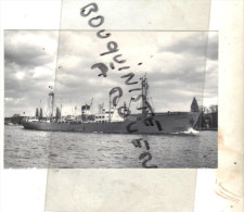 "PHOT BATEAU IDENTIFIE "" ROTENFELS  "" HANSA 1945 LUBECK  ALLEMAGNE TRANSPORT MARITIME"