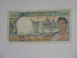 500 Francs  1992- Institut D´émission D´Outre-mer **** EN ACHAT IMMEDIAT **** - Französisch-Pazifik Gebiete (1992-...)