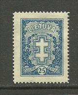 LITAUEN Lithuania 1927 Michel 273 MNH - Lituanie