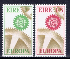 IRL+ Irland 1967 Mi 192-93 Mnh EUROPA - 1949-... Repubblica D'Irlanda
