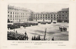 PARIS Caserne Lobau Remise Du Drapeau De La Garde Républicaine 1899 - Vieux Papiers