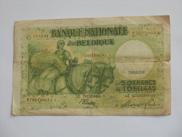 50 Francs Ou 10 Belgas 1944 - Banque Nationale De Belgique **** EN ACHAT IMMEDIAT **** - [ 2] 1831-... : Koninkrijk België