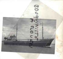 """PHOT BATEAU IDENTIFIE """" ACHILLES """" FRITZ VON BUSCH RFA 1951 HAMBOURG ALLEMAGNE PHOTO DUNCAN"""