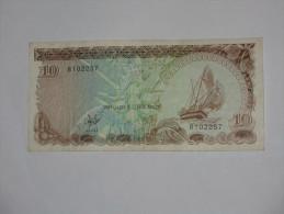10 Rufiya 1983 Maldives Monetart Authority  *** EN ACHAT IMMEDIAT *** - Maldives