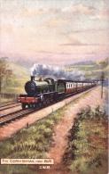 "Artist Signed : Great Western Railway  -  The ""Cornishman"" Near Bath    -   9226 - Trains"