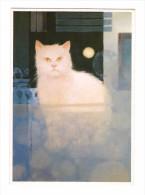 Chat Illustrateur Peinture De N´ Geth Sim Chats Illustration - Katten