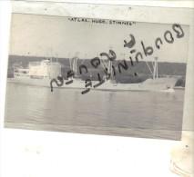 "PHOT BATEAU IDENTIFIE "" ATLAS HUGO STINES "" 1955 bremerhaven ALLEMAGNE"