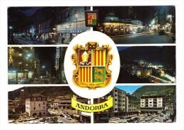Andorre Valls Andorra La Vella Les Escaldes + Timbre Cachet 1972 - Andorra