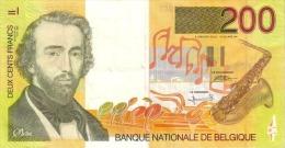 BELGIUM P. 148 200 F 1995 UNC - [ 2] 1831-... : Belgian Kingdom
