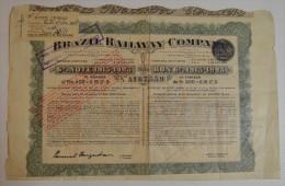 Brazil Railway Company - Chemin De Fer & Tramway