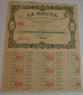 La Mouna, Alimentation Du Nord Africain - Afrique