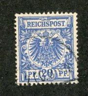G-12412  Reich 1889- Michel #48d (o)  - Offers Welcome! - Oblitérés
