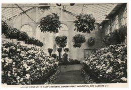 (PH 321) Australia - TAS - Lauceston City Gardens (very Old) - Lauceston