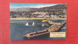 California> Santa Barbara -- Harbour Restaurant end of Pier - ref 1888