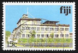 FIJI - Scott #416 Colonial War Memorial Hospital (*) / Used Stamp - Fiji (1970-...)