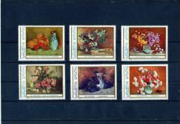 1976 - Tableaux De Fleurs De St.Luchian Yv No 2992/2997 Et Mi 3382/3387 MNH - 1948-.... Republiken