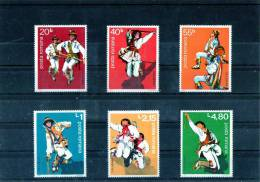 1977 - Danses Populaires Calusarii Yv No 3072/3077 Et Mi No 3474/3479 - 1948-.... Republiken