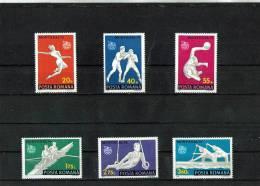 1976 - J.O. D Ete  A Montreal Yv No 2964/2969 Et Mi No 3350/3355 MNH - 1948-.... Republiken