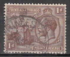Trinidad And Tobago    Scott No.  22    Used     Year  1922 - Trindad & Tobago (...-1961)