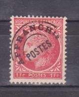 FRANCE / 1945-1947 / Y&T Préo N° 90 : Cérès De Mazelin 1F Rouge - Sans Gomme - Préoblitérés